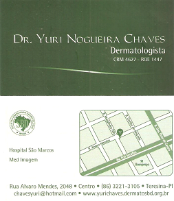 Dr. Yuri Nogueira Chaves - Dermatologista CRM 4627 - ROE 1447