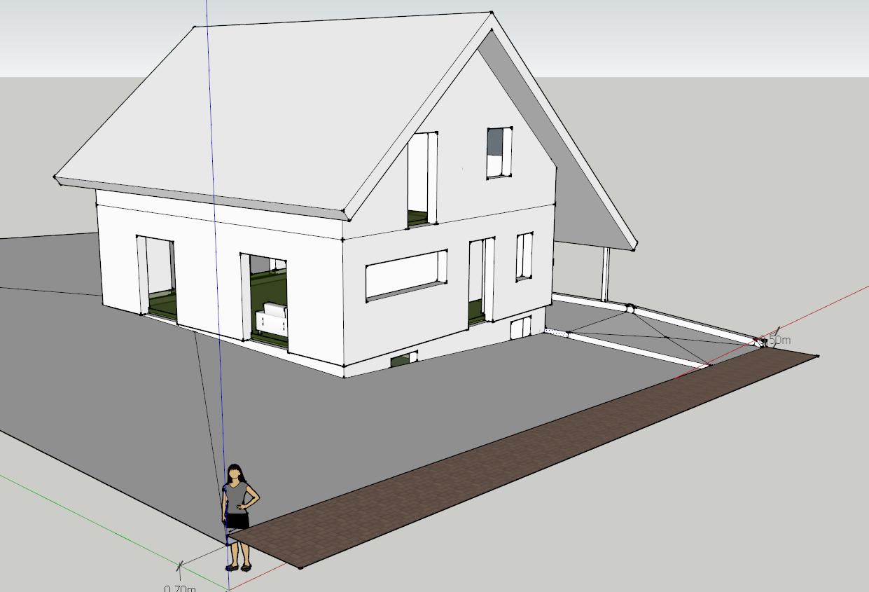wir bauen ein haus grundst cksplanung. Black Bedroom Furniture Sets. Home Design Ideas