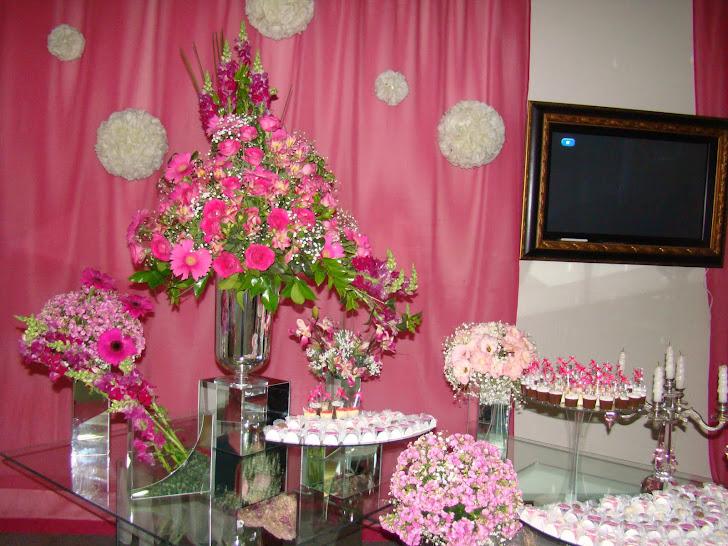 mesa de bolo pink