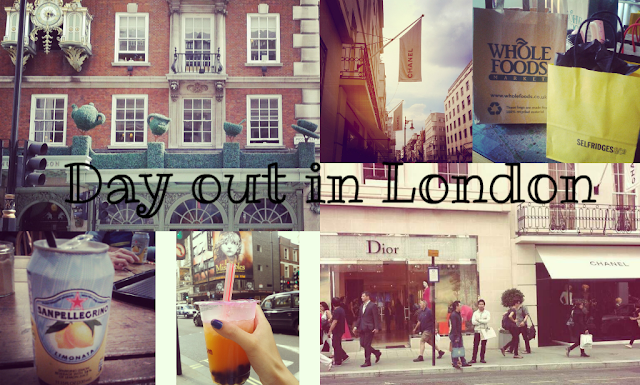 Photo Diary: Day in London