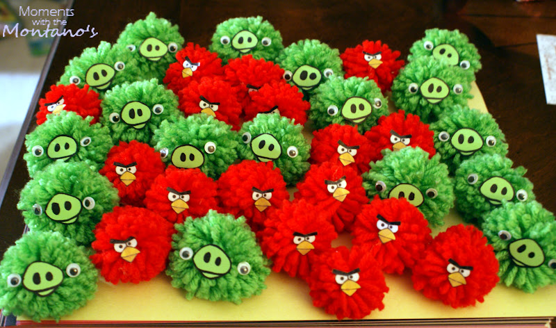 Be different act normal diy angry bird party ideas for Angry birds party decoration ideas