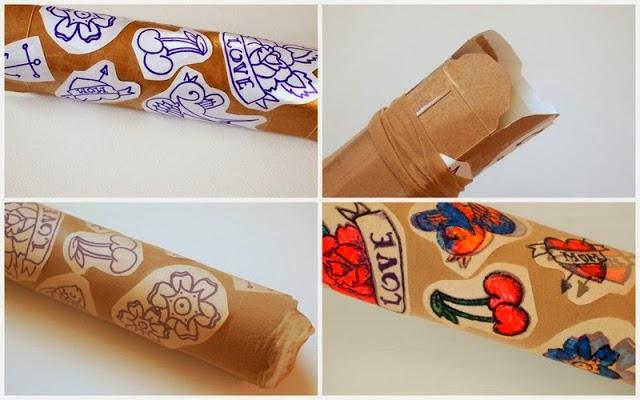 Reciclatex Cómo hacer unas mangas de tatuajes para Disfraz de Carnaval