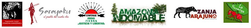 ORGANIZACIONES AMAZÓNICAS UNIDAS FRENTE A LA XI RONDA PETROLERA ILEGAL E INCONSTITUCIONAL