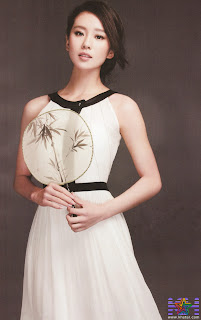 Beautiful Actress Liu Shi Shi