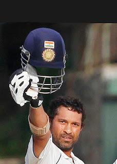 Sachin Tendulkar off hat