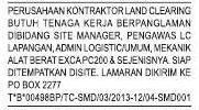 Lowongan Perusahaan Kontraktor Land Clearing