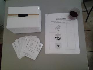 School voting drills