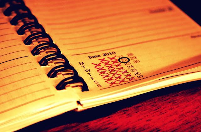 diary notebook calendar list
