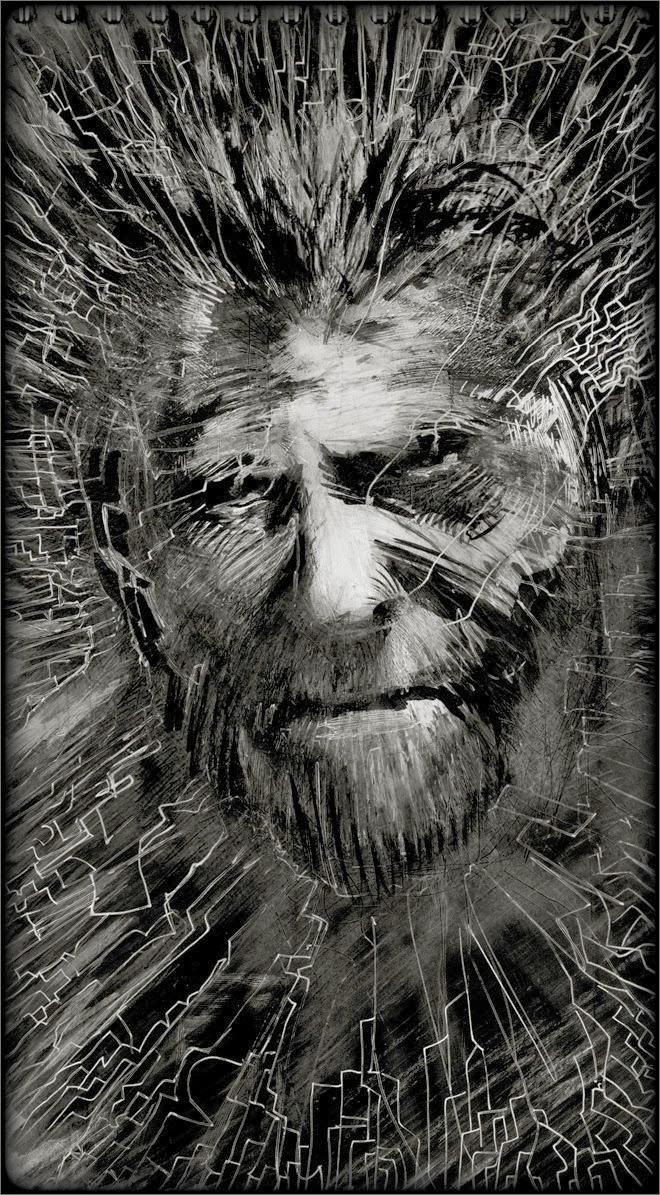 Charles Bukowski by Regis Lagoeyte