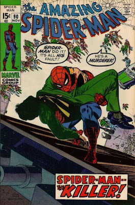 Amazing Spider-Man #90, the death of Captain George Stacy, John Romita