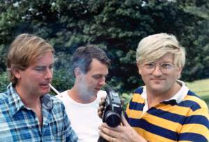 Larry, Gregory Evans, David Hockney