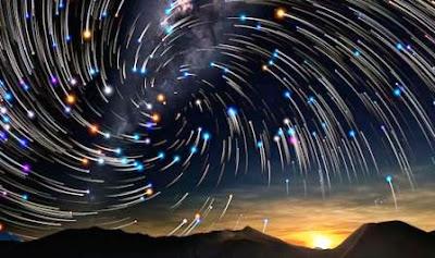 gerak semu bintang akibat rotasi bumi