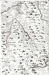 La Nación Motilona. Mapa del año 1560, publicado en Madrid en 1787: