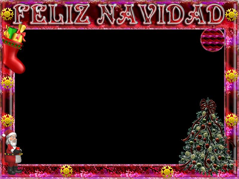 Marcos Navidad Fotos. Tarjetas Marcos Fondos Navidad. Marcos Navidad ...