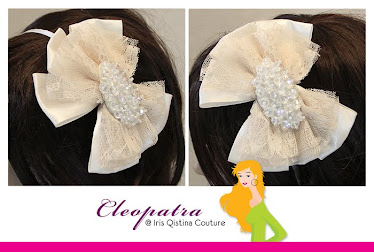Headband Cream Color. RM38