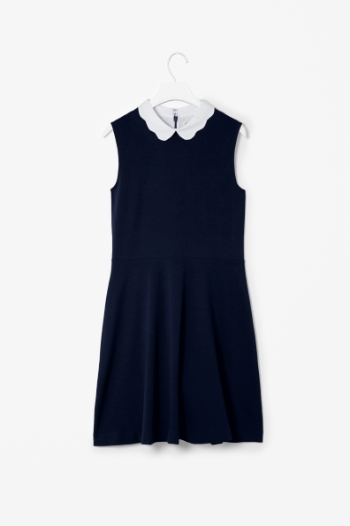 scallop dress, cos