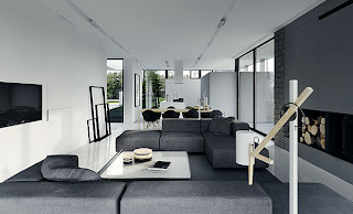 Apartment Decorating Ideas Black And White