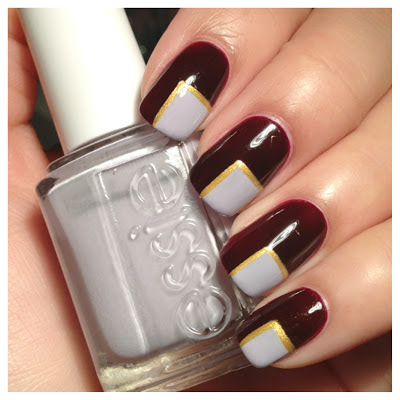 ashlilly's lacquer lust nails inc 'victoria' and essie's