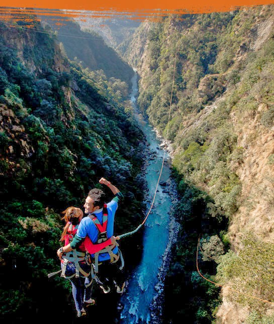 canyoning in nepal, rafting, accomodation, tent house, trekking, tour, hiking