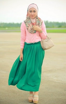 contoh two piece casual