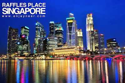 Raffles Palace, Fullerton Hotel, Que, Maybank, Merlion Park, Singapore, Marina Bay, Night Shoot, Landscape, Nightscape