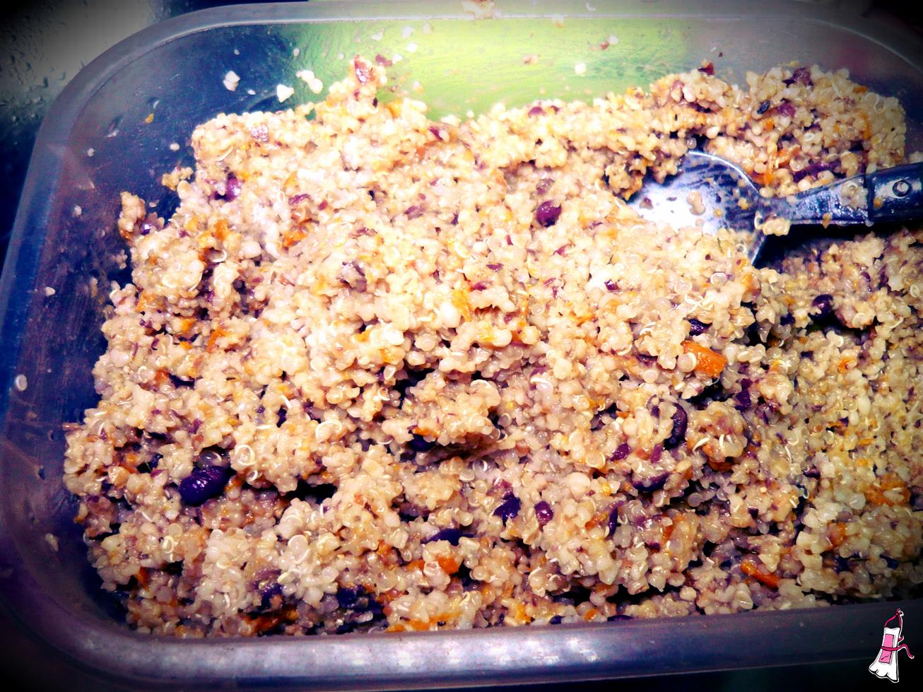 Food revolution day receta de hamburguesas de quinoa y for Cocina quinoa con verduras