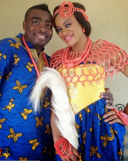 Uchenna Nnanna wedding pictures