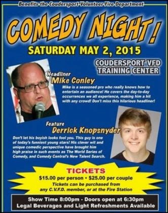 5-2 Comedy Night Coudy VFD