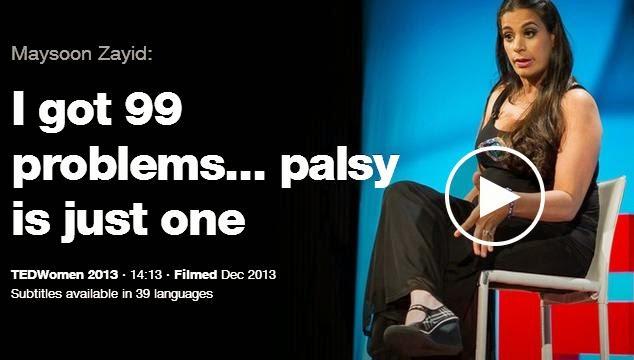 maysoon zayid, palsy, palsi hastalığı, ted konuşmaları