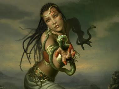 Fantasia Mujer  serpientes