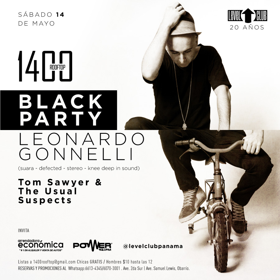 Black Party by Level Club
