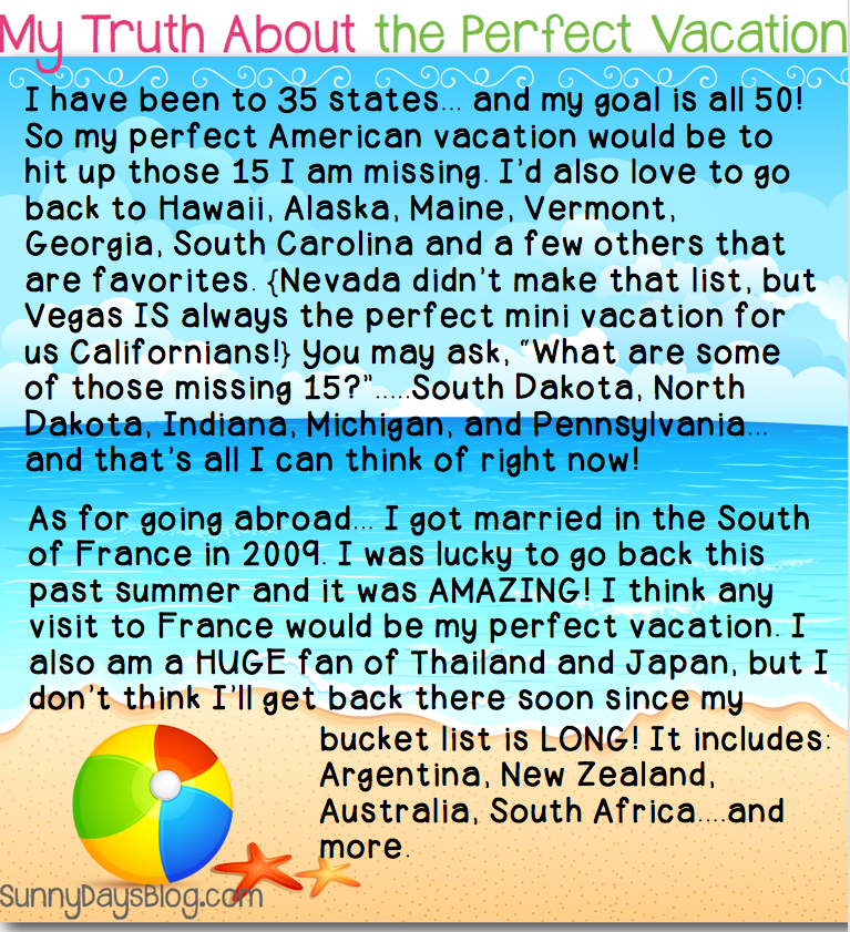 My Perfect Vacation Essay - image 3