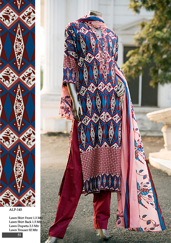Almirah Lawn Dresses 2015 for Spring Summer
