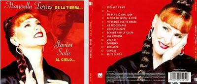 2002-Manoella Torres De La Tierra...Javier Solís Al Cielo...CD