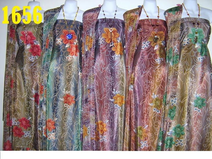 SWB 1656: SUTERA WANGI BRUNEI, 4 METER, 5 COLORS
