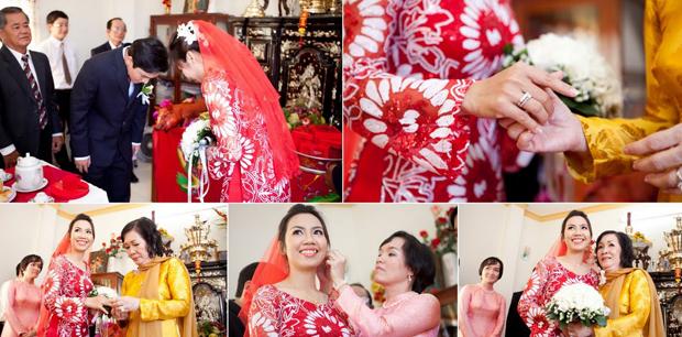 Những nghi lễ chính trong lễ đón dâu của người Việt