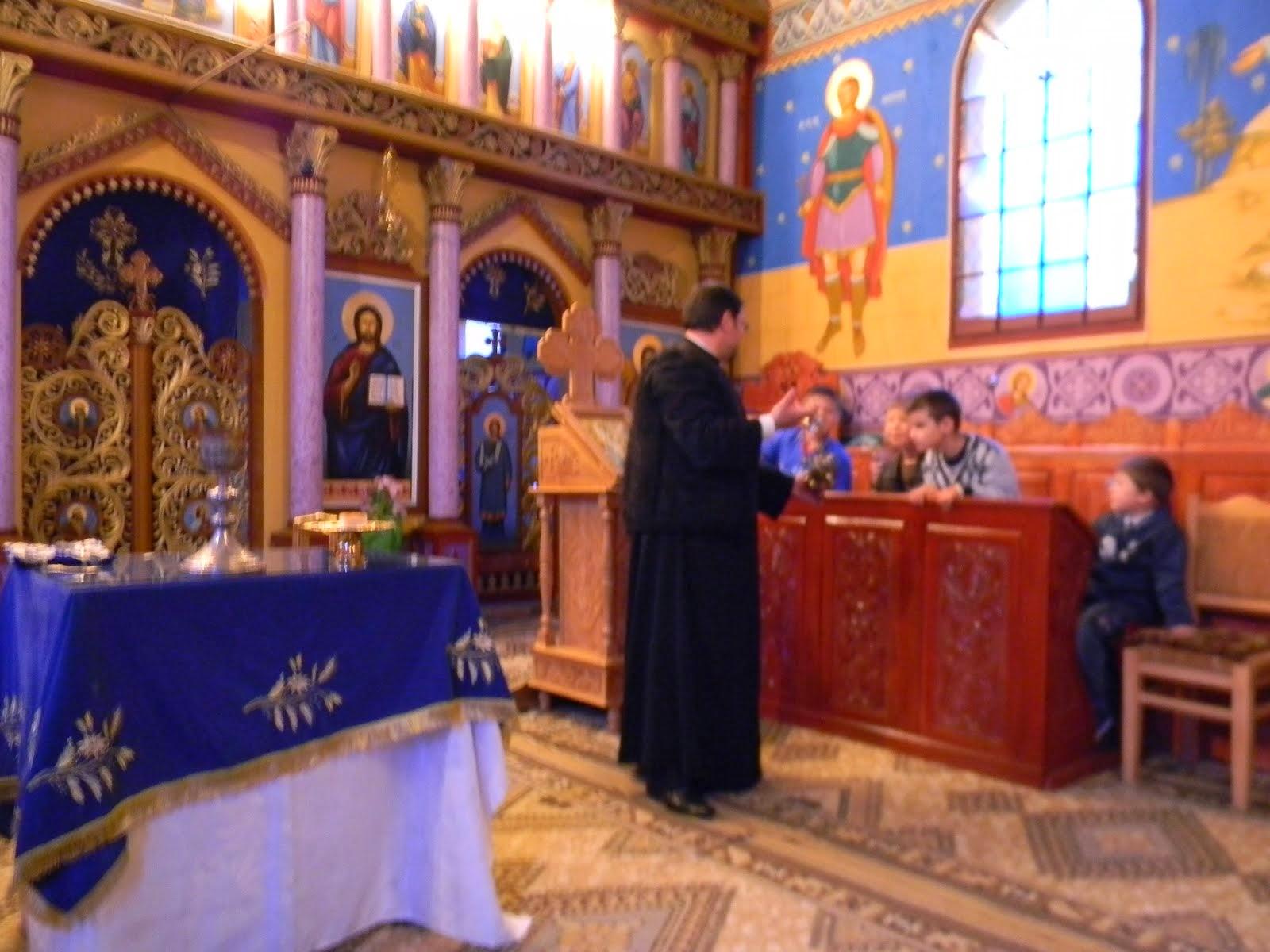 Proiect ,, Sfanta Euharistie - lumina vieţii creştine,, martie 2014