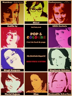 Online workshop :::  Pop and Colours