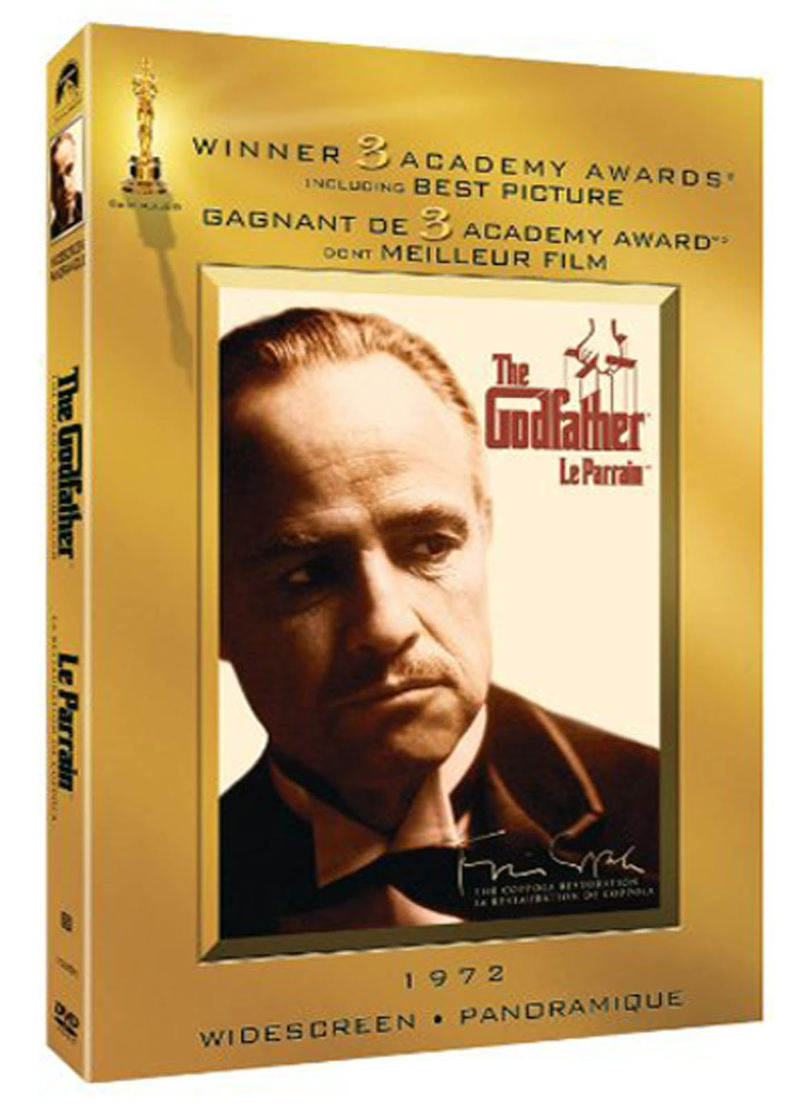 The Godfather DVD Case Box