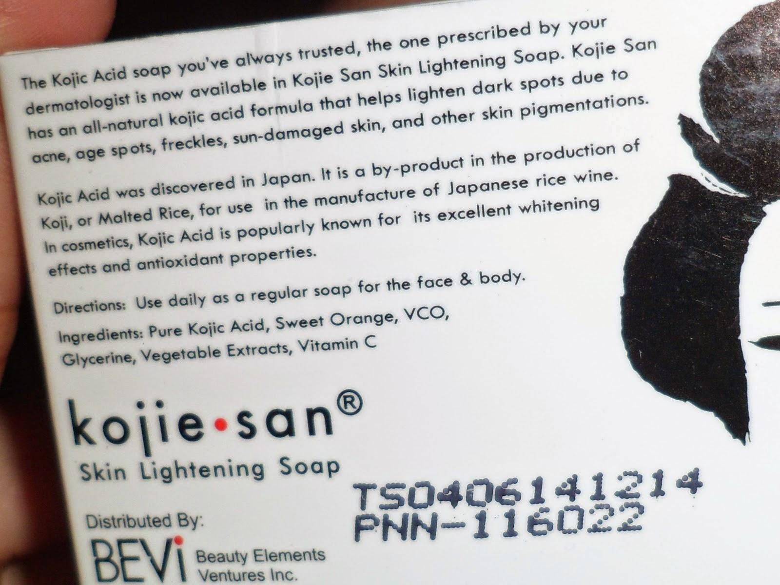 Kojic Acid Whitening Soap In Pakistan