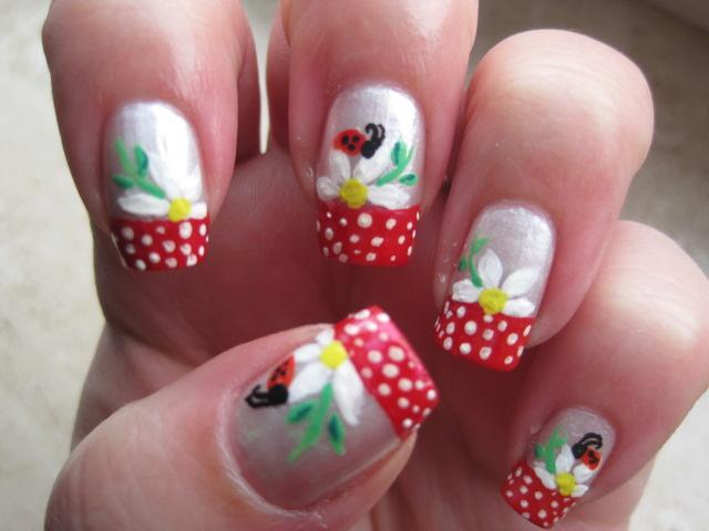 sweet nails, nice nails,