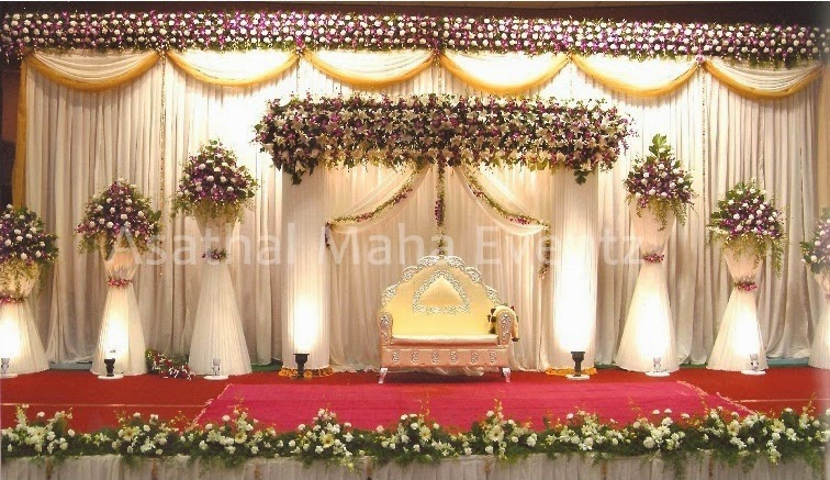wedding planners stage decorators in tiruppur