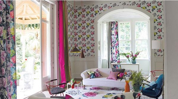 berbagai dekorasi dan asesoris rumah warna warni