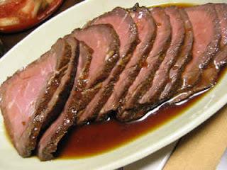 roast beef, comida, recetas, recetario, recetas de cocina, recetas con vino, sugerencias del chef