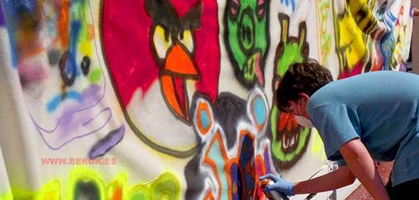 Escuela para aprender a pintar graffitis
