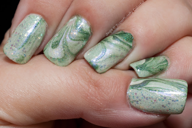 Christmas Water Marble
