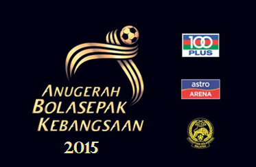 Keputusan pemenang Anugerah Bolasepak Kebangsaan 2015