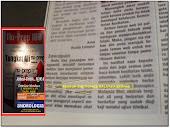 Metro Ahad 9,9,2012 produk Biotropics Malaysia Berhad berpaten bersama kajian klinikal Nu-Prep100