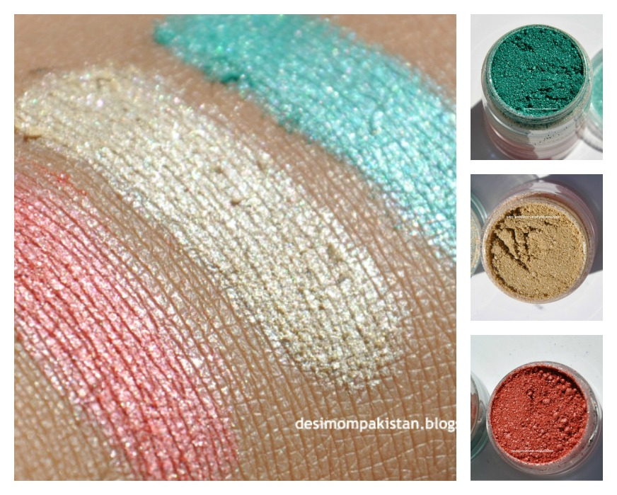 LUSCIOUS PRECIOUS METAL PURE MINERAL EYESHADOWS In SUMMER HOLIDAY