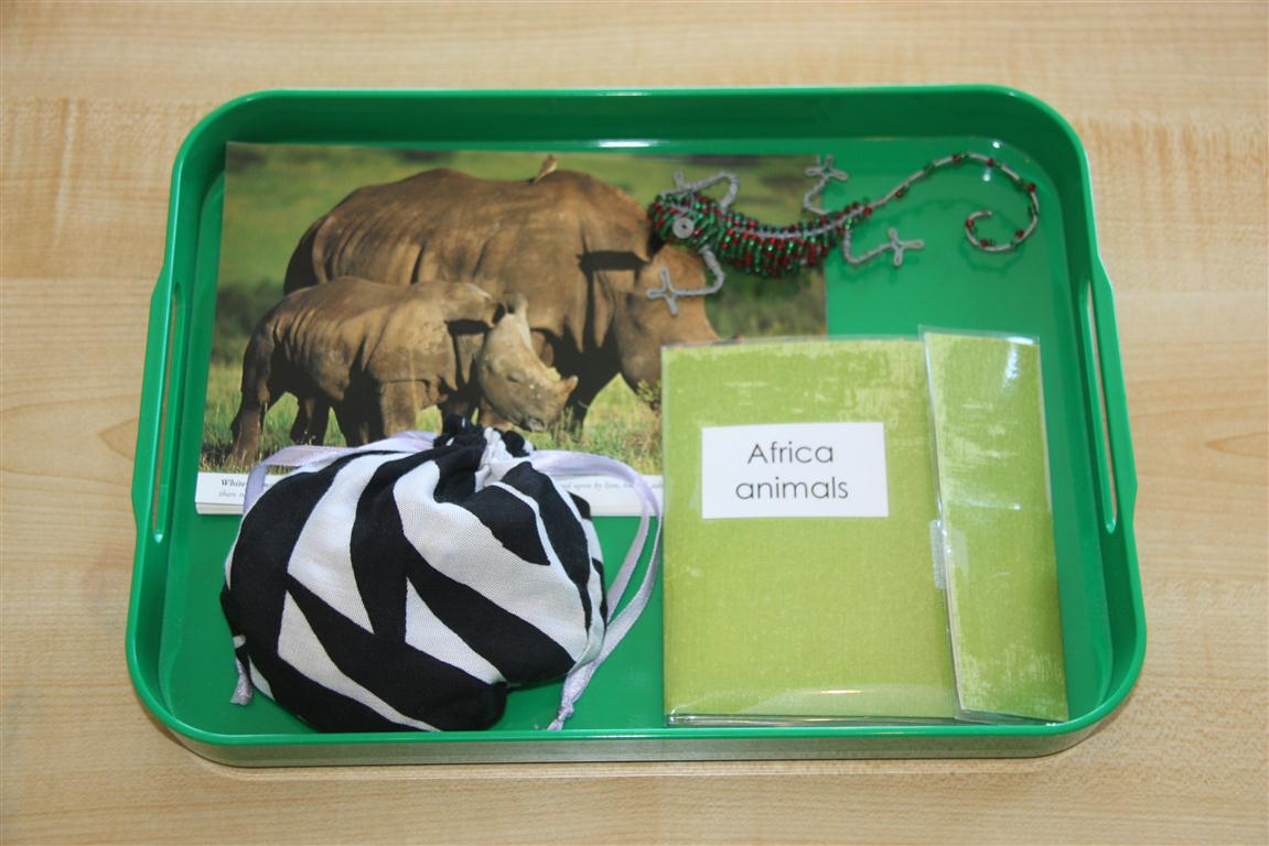 Africa Animals Tray (Photo from Counting Coconuts)